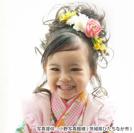 髪型 七五三 髪型 アレンジ : sanpatsu-heru.blogspot.com