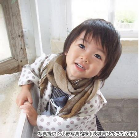 七五三 五歳 髪型①